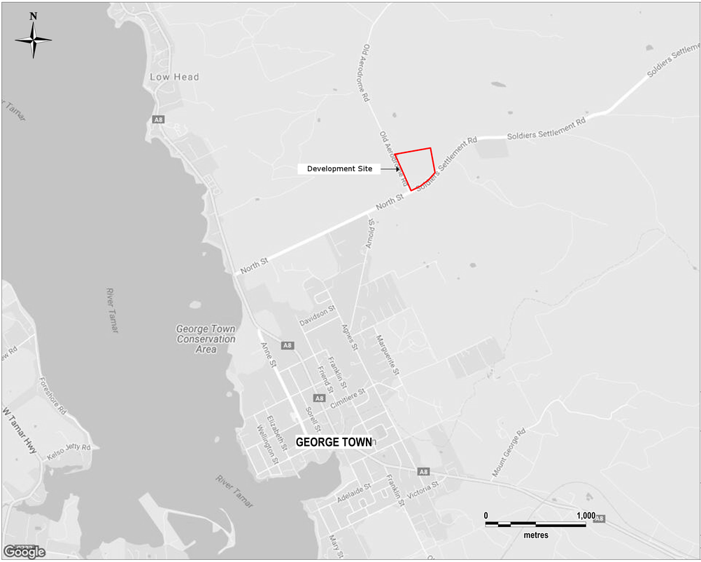 George Town Project Footprint